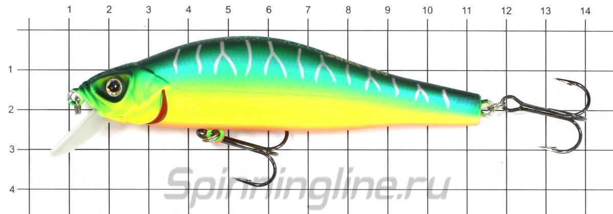 Воблер Strike Pro EG-125B-SP A140E - фото на размерной линейке (цвет может отличаться) 1