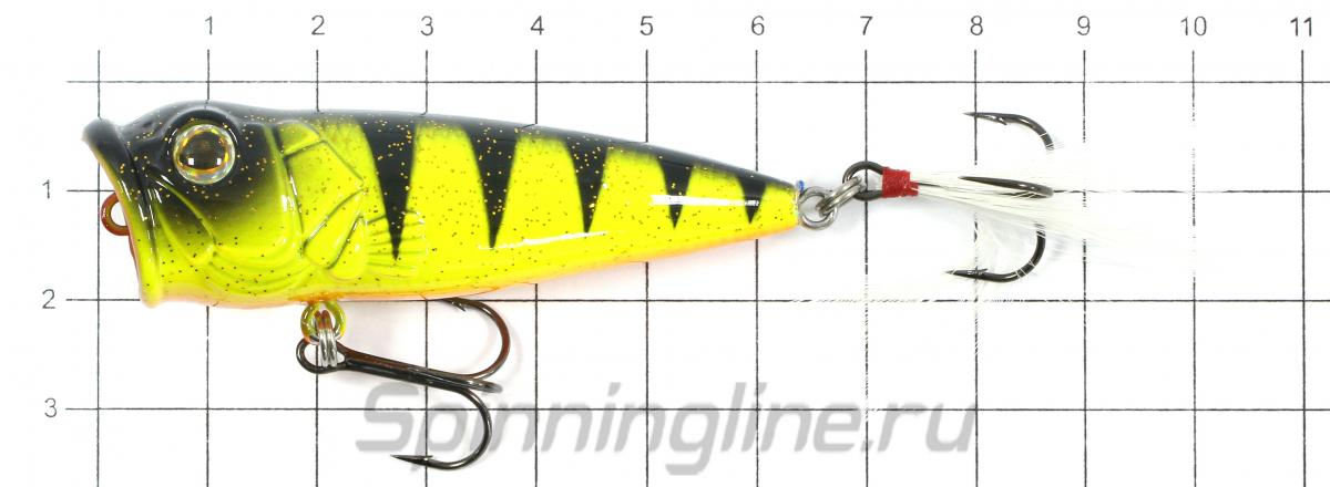 Воблер Strike Pro SP-163F A121F - фото на размерной линейке (цвет может отличаться) 1