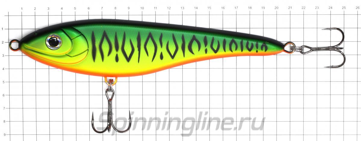 Воблер Strike Pro Big Bandit EG-078 C195 - фото на размерной линейке (цвет может отличаться) 1