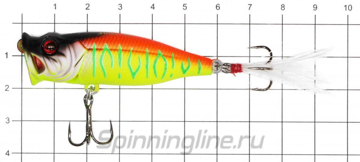 Воблер Strike Pro SH-002BA A08 - фото на размерной линейке (цвет может отличаться) 1