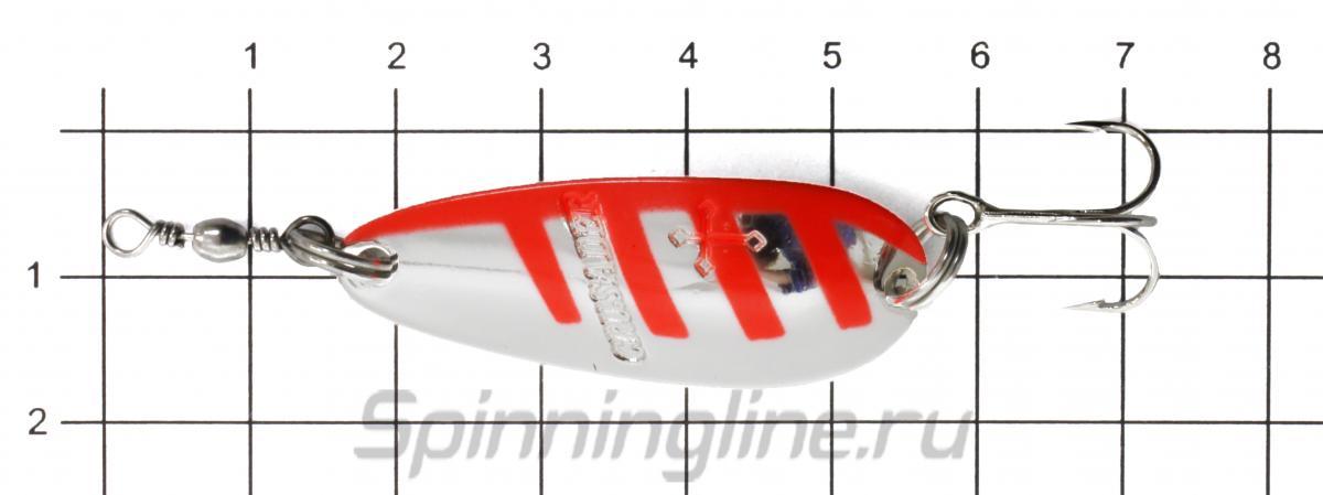 Блесна Daiwa Crusader 7 SK - фото на размерной линейке (цвет может отличаться) 1