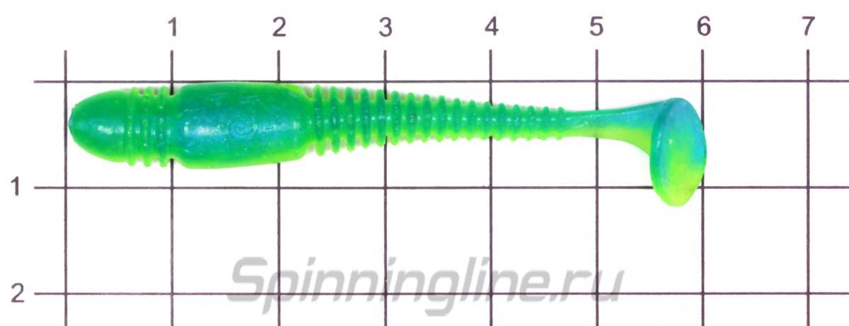 Приманка Lucky John Tioga 62/T50 - фото на размерной линейке (цвет может отличаться) 1