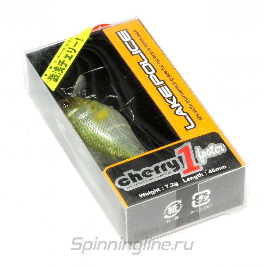 Воблер Jackall Cherry One Footer 46 hl ayu - Данное фото демонстрирует вид упаковки, а не товара. Товар на фото может отличаться по цвету, комплектации и т.д. Дизайн упаковки может быть изменен производителем 1