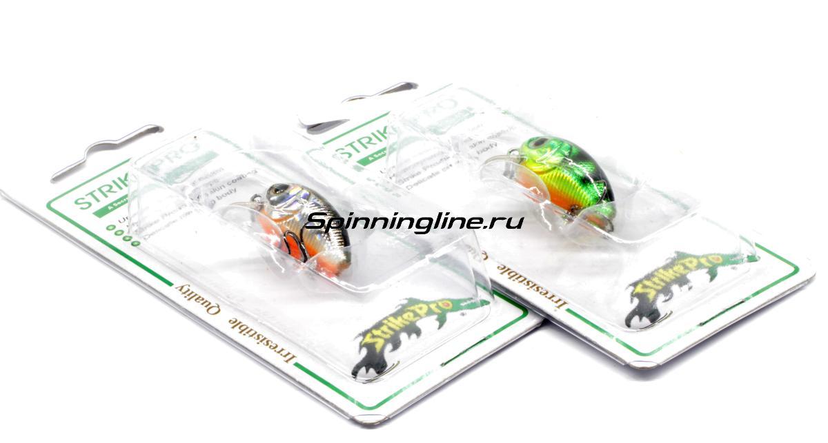 Воблер Strike Pro EG-036F 096SA - Данное фото демонстрирует вид упаковки, а не товара. Товар на фото может отличаться по цвету, комплектации и т.д. Дизайн упаковки может быть изменен производителем 1
