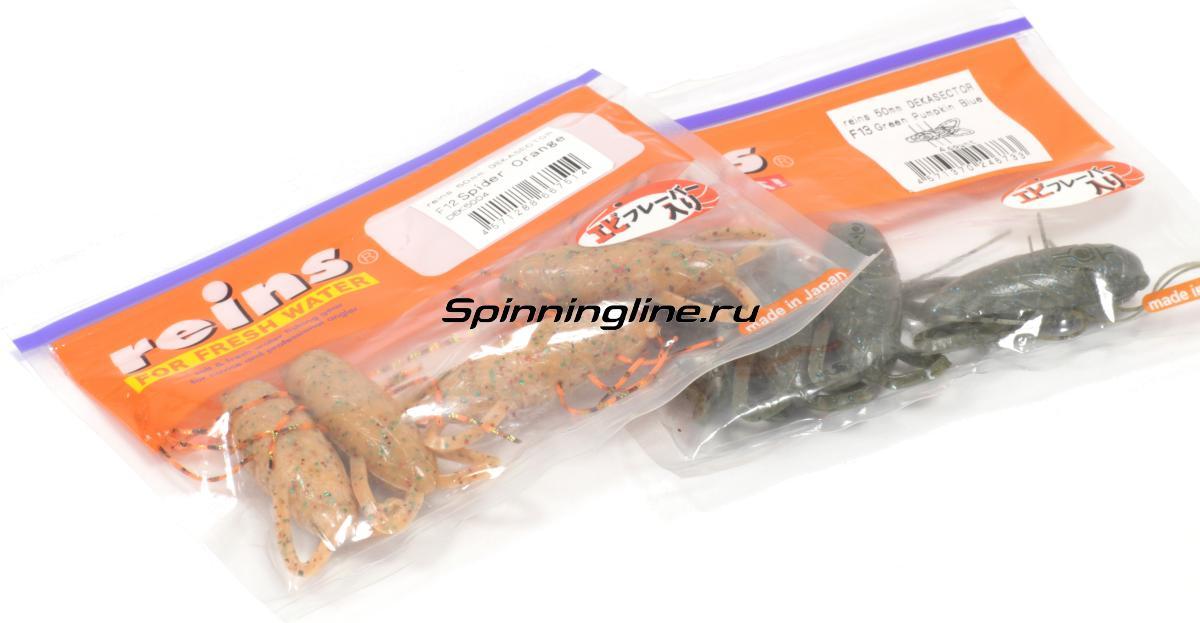 Приманка Reins Dekasector F9 Smoke - Данное фото демонстрирует вид упаковки, а не товара. Товар на фото может отличаться по цвету, комплектации и т.д. Дизайн упаковки может быть изменен производителем 1