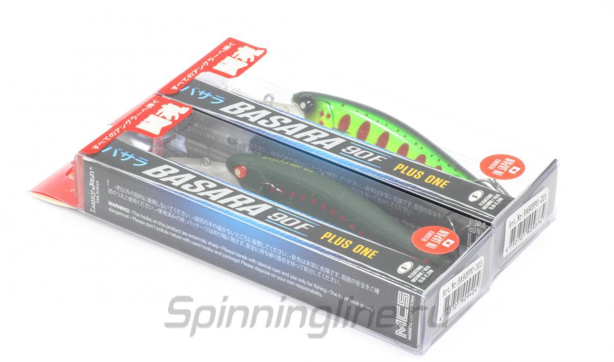 Воблер Lucky John Basara Plus One 90F 103 - Данное фото демонстрирует вид упаковки, а не товара. Товар на фото может отличаться по цвету, комплектации и т.д. Дизайн упаковки может быть изменен производителем 1