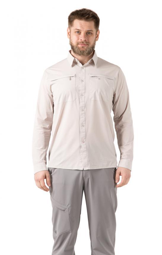 Рубашка FHM Airy XS бежевый
