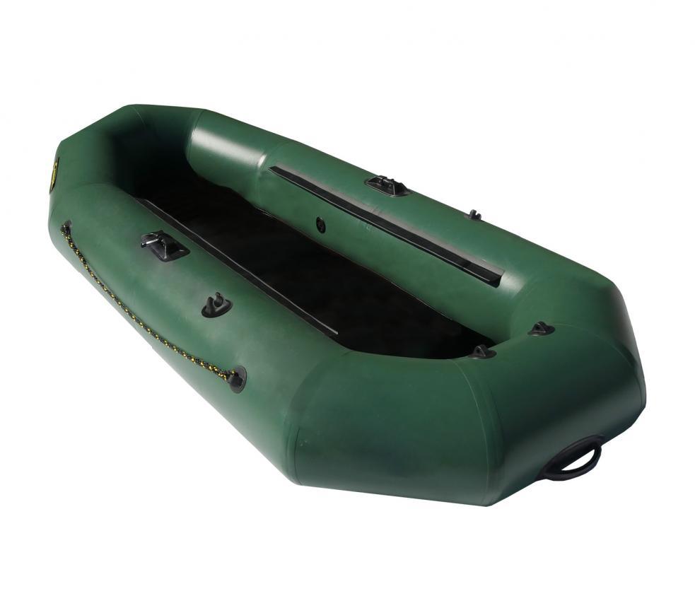 Лодка ПВХ Leader Компакт-265 упрощённая зеленый