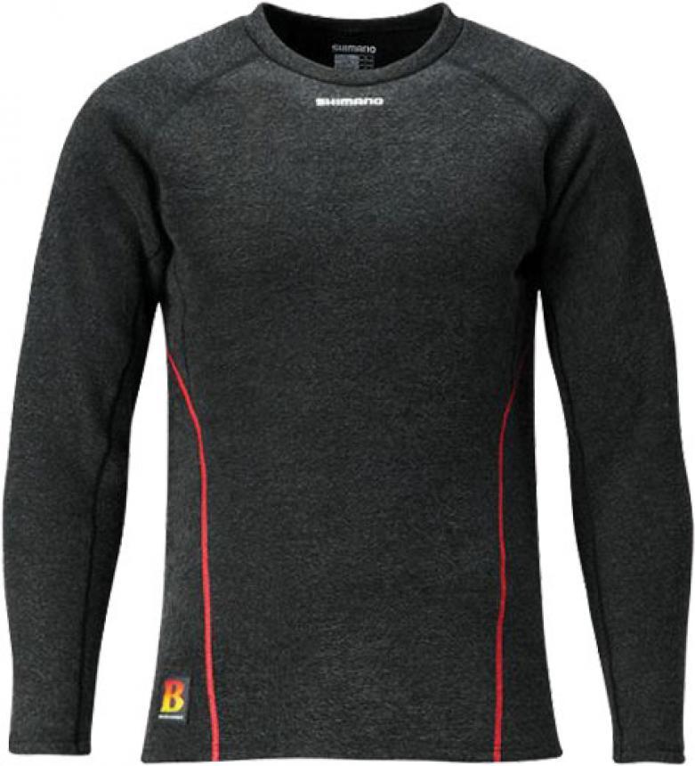Рубашка Shimano Breath Hyper+C IN-020Q L черный