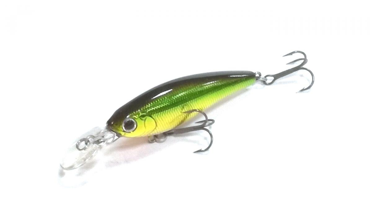 Воблер Daiwa Steez Shad 54SP SR-S Green Gold