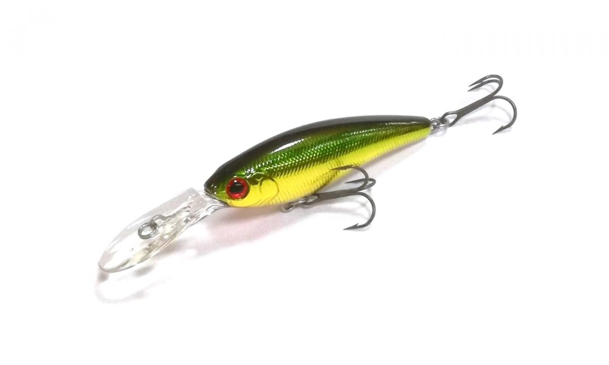 Воблер Daiwa Steez Shad 60SP-MR Green Gold
