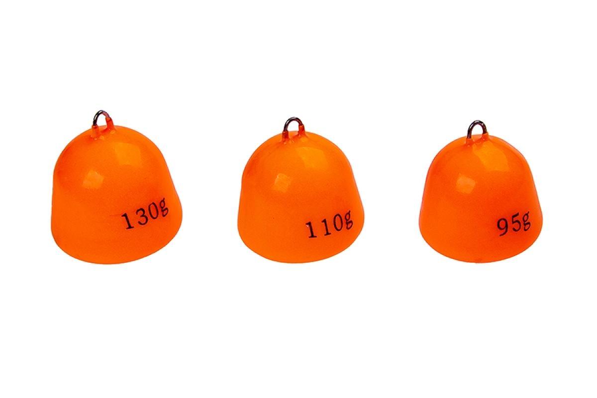 Грузило Higashi Bell Sinker Fluo Orange 110гр