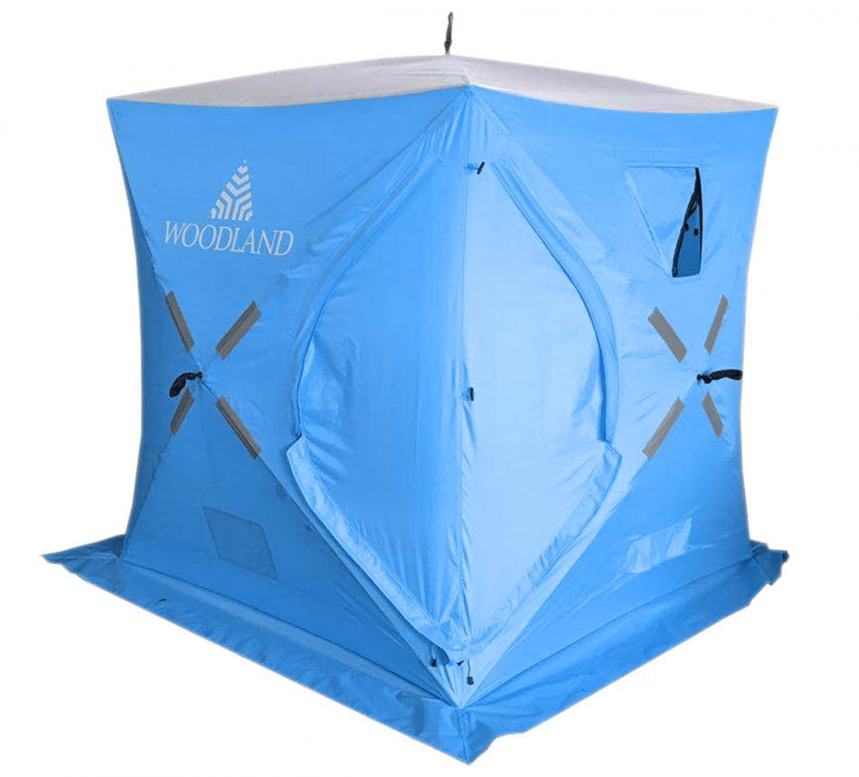 Палатка зимняя Woodland Ice Fish 2 синий New