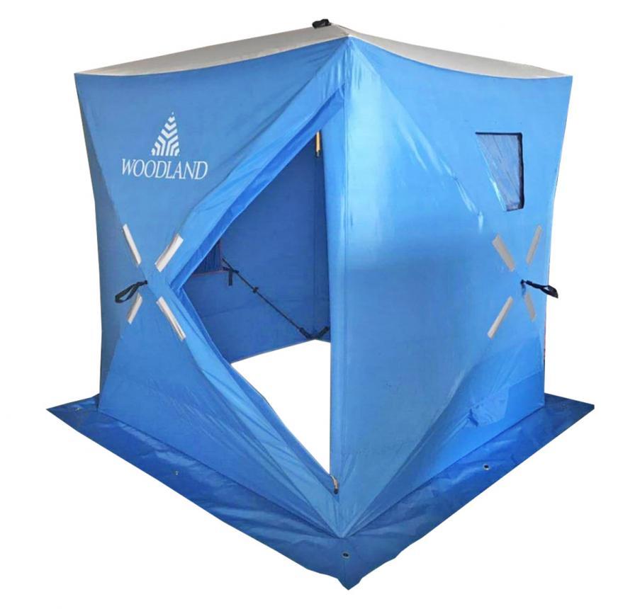 Палатка зимняя Woodland Ice Fish 4 синий New