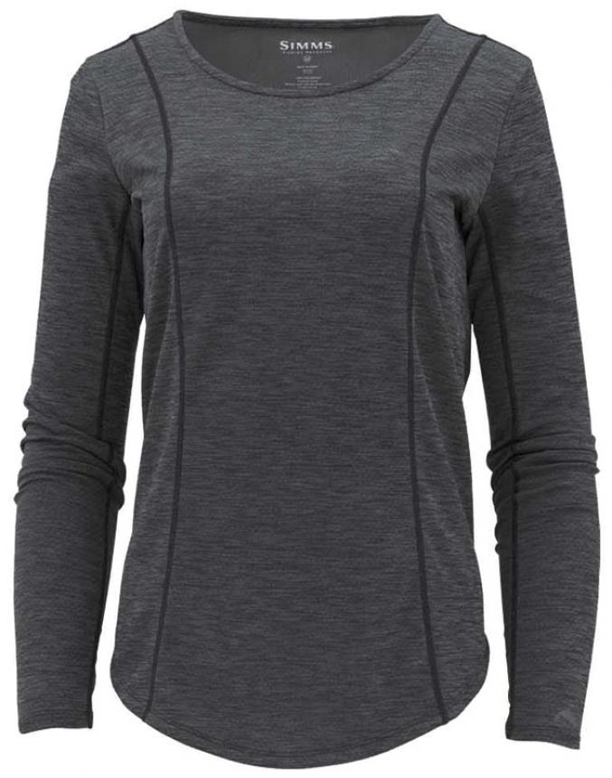 Рубашка Simms Womens Lightweight Core Top XS Black
