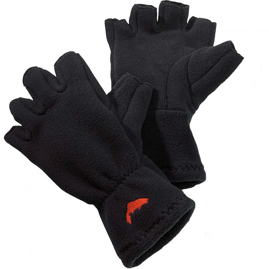 Перчатки Simms Freestone Half-Finger Glove XL Black