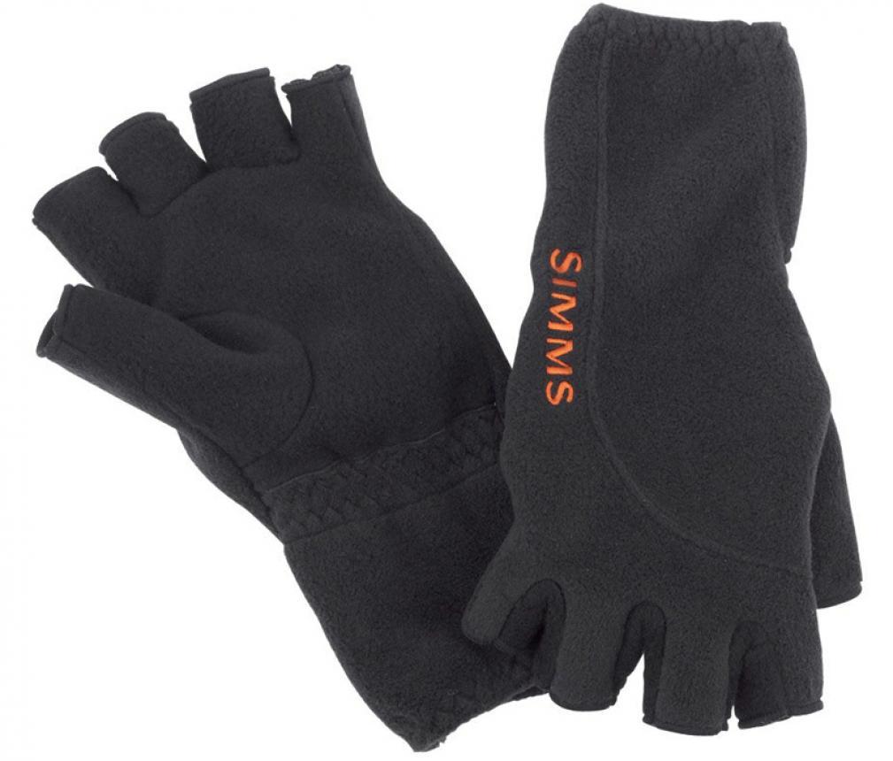 Перчатки Simms Headwaters Half Finger Glove S Black