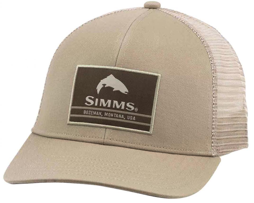Кепка Simms Original Patch Trucker Tan