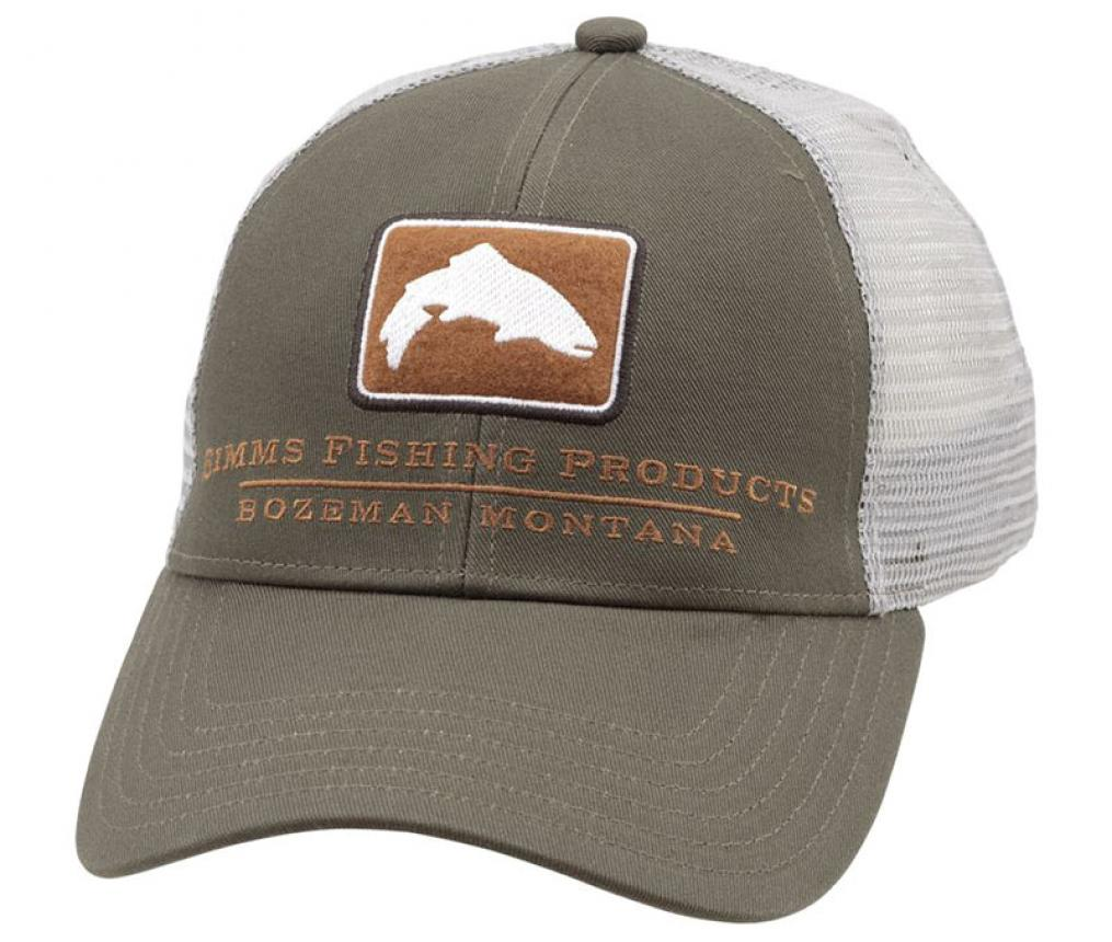 Кепка Simms Small Fit Trout Icon Trucker Canteen