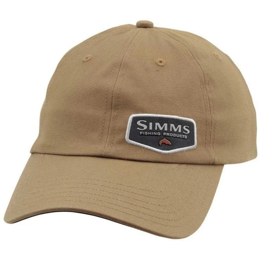 Кепка Simms Oil Cloth Cap Honey Brown