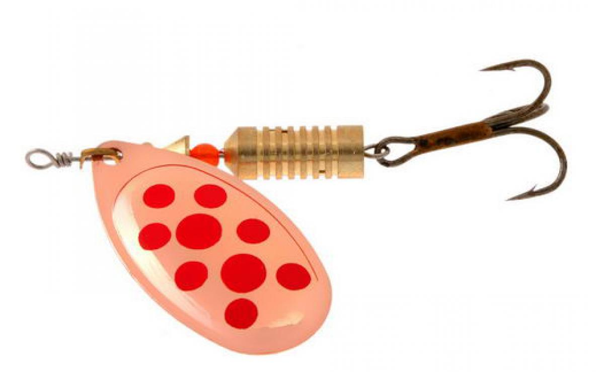 Блесна Norstream Aero Spinner 0 2,5гр copper red dots