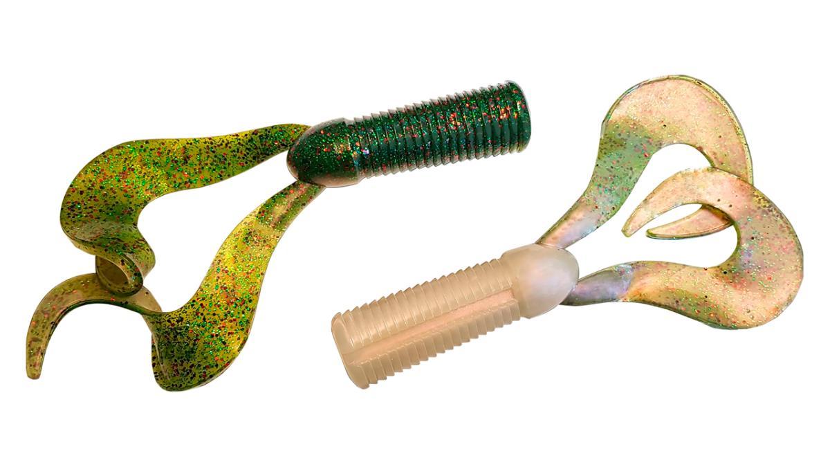 Хвосты для бактейлов CWC Miuras Mouse Mini 22гр Arkansas Shiner