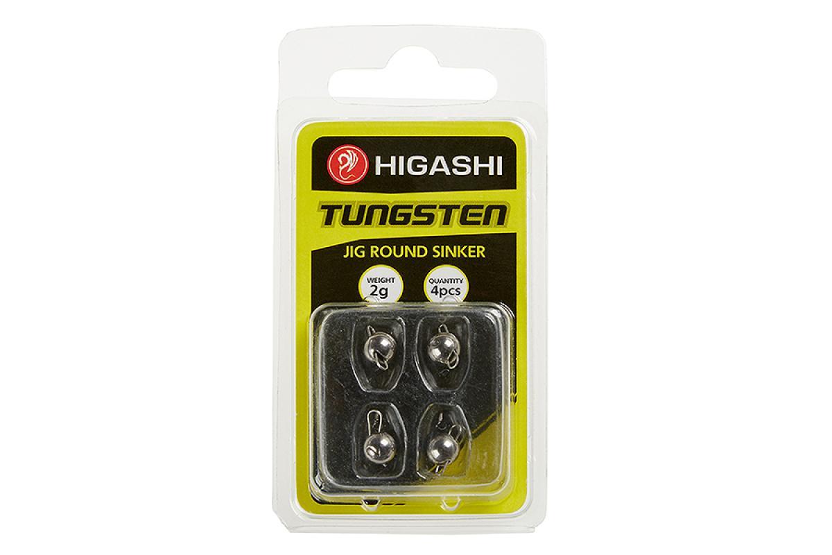 Груз Чебурашка Higashi Jig Tungsten Sinker R Clear 1гр