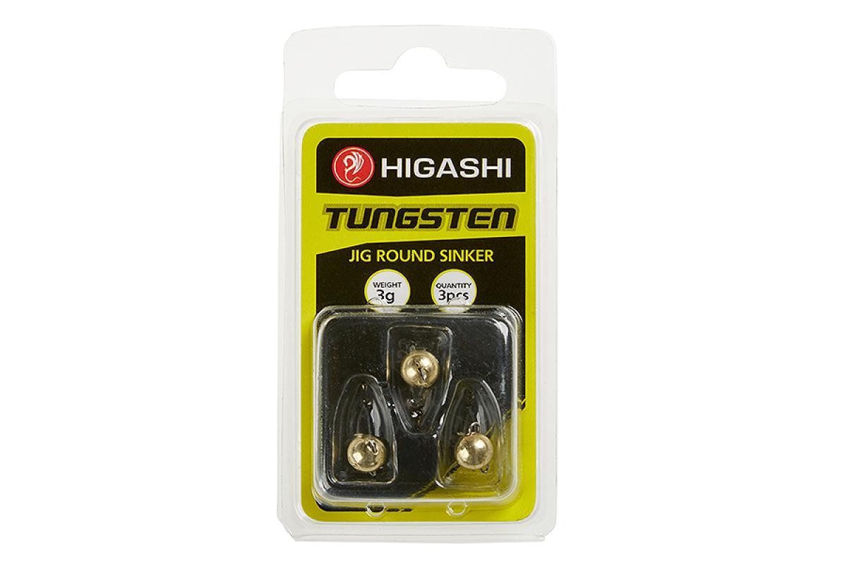 Груз Чебурашка Higashi Jig Tungsten Sinker R Gold 1гр