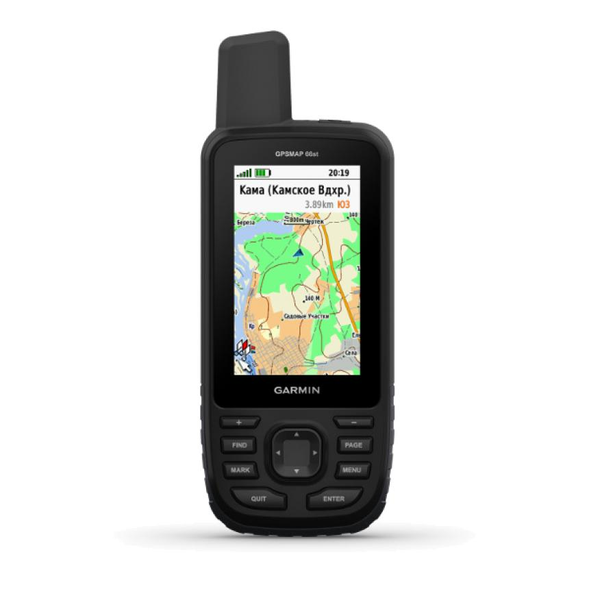 Навигатор Garmin GPSMAP 66st Russia