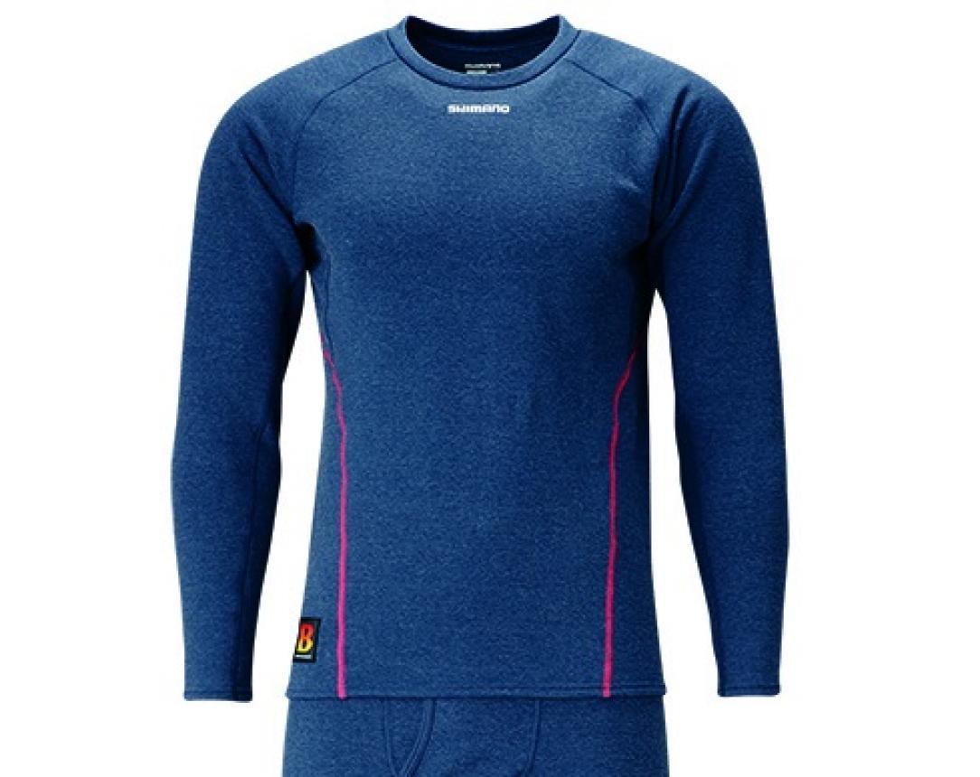 Рубашка Shimano IN-020Q L синий