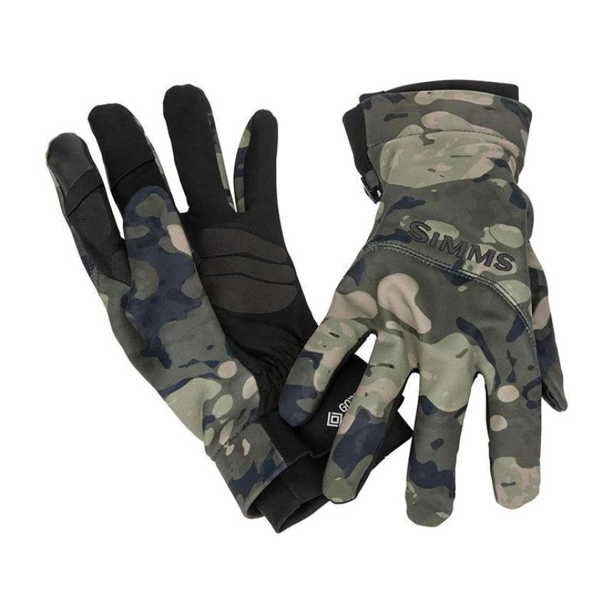 Перчатки Simms Gore-Tex Infinium Flex Glove S Riparian Camo