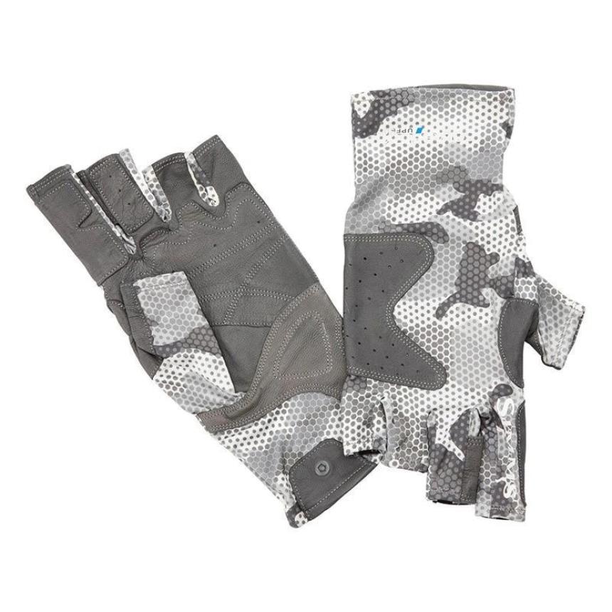 Перчатки Simms Solarflex Guide Glove M Hex Flo Camo Steel