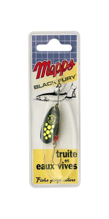 Блесна Mepps Black Fury 3 BL Ch 6,5гр блистер
