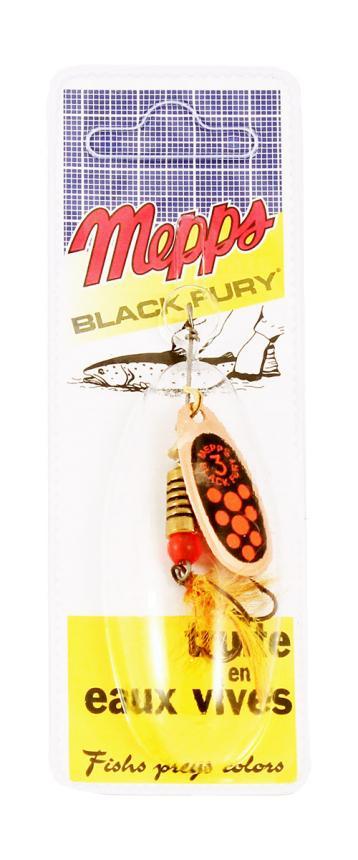 Блесна Mepps Black Fury Mouche 3 C Or 6,5гр блистер