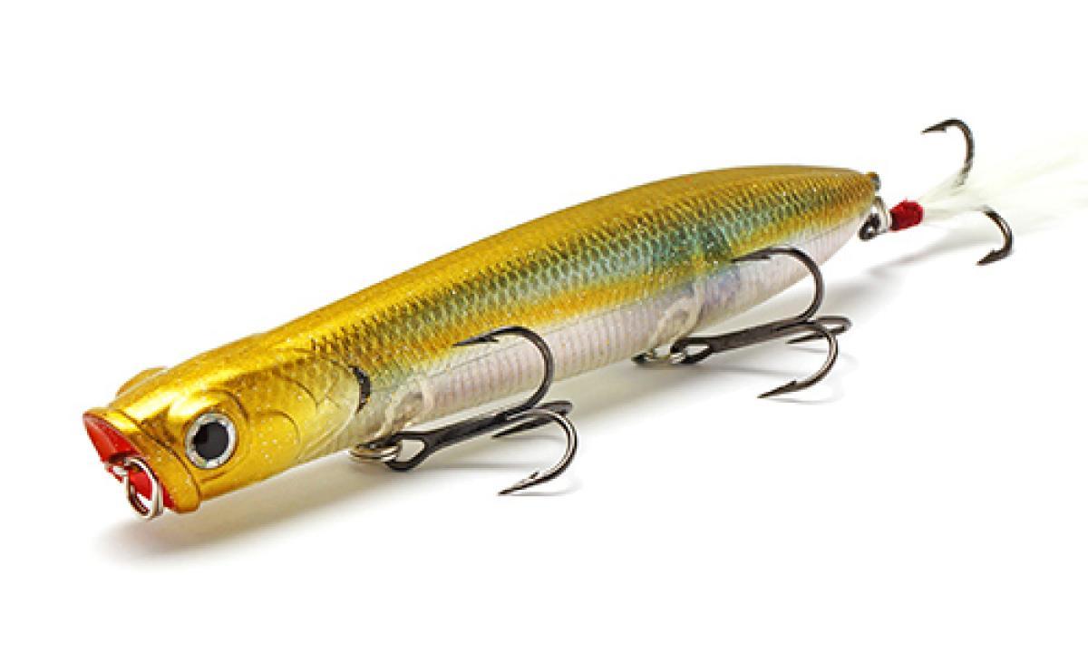 Воблер Lucky Craft Gunfish 117 Flake Flake Golden Sexy Minnow 179 - фото предоставленно поставщиком 1