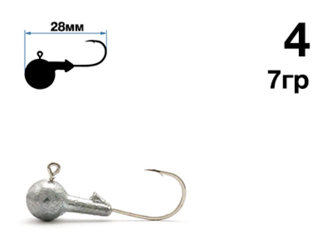 Джиг-головка Nautilus Sting Sphere SSJ4100 4 7гр