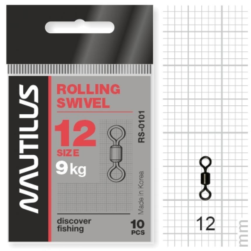 Вертлюг Nautilus Rolling Swivel 0101 №12