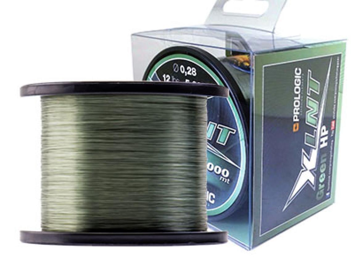 Леска Prologic XLNT HP 1000м 0,33мм зеленая