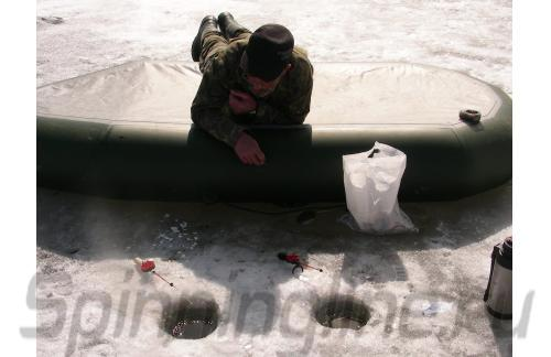 Удочка зимняя Freeway HFB-9 красная - фотография загружена пользователем 1